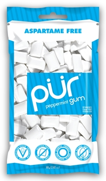 Picture of  Peppermint Gum, 55 pieces