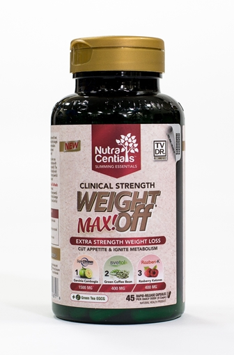 Picture of Nuvocare Health Sciences NutraCentials WeightOFF MAX!, 45 Capsules