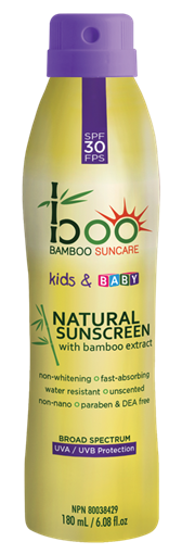 Picture of Boo Bamboo Boo Bamboo Kids & Baby Sunscreen Spray SPF30, 180ml