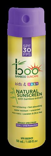 Picture of Boo Bamboo Boo Bamboo Kids & Baby Sunscreen Spray Mini SPF30, 50ml