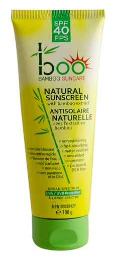 Picture of Boo Bamboo Boo Bamboo Natural Sunscreen Lotion SPF40, 100g