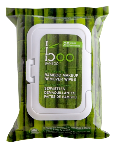 Picture of Boo Bamboo Boo Bamboo Make-Up Remover, 25 Wipes