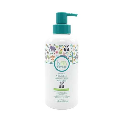 Picture of Boo Bamboo Boo Bamboo Baby Natural Body Lotion, Unscented 600ml