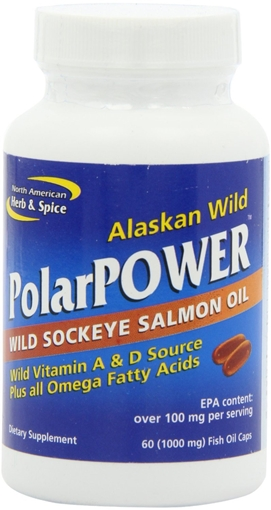 Picture of North American Herb & Spice North American Herb & Spice PolarPOWER 1000mg, 60 Capsules