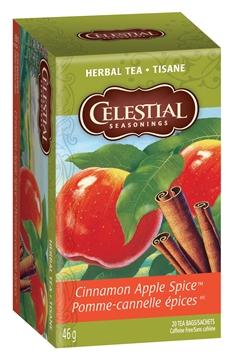 Picture of Celestial Tea Celestial Tea Cinnamon Apple Spice, 20 Bags