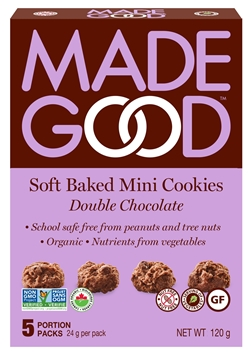 Picture of Made Good Double Chocolate - Mini Cookies, Case of 6, 120g