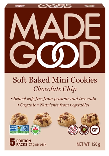 Picture of Made Good Chocolate Chip - Mini Cookies, 6x120g