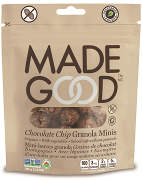 Picture of  Chocolate Chip Granola Minis Pouch, Case of 6x100g