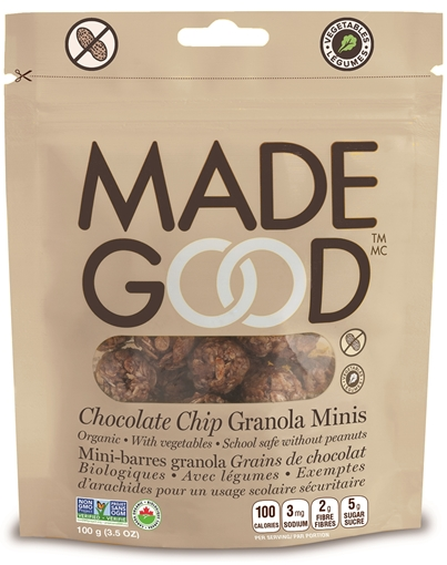 Picture of Made Good Chocolate Chip Granola Minis Pouch, Case of 6x100g