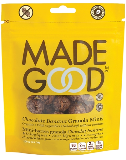Picture of Made Good Chocolate Banana Granola Pouch, Case of 6x100g
