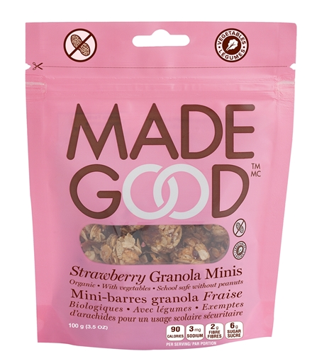 Picture of Made Good Strawberry Granola Pouch, Case of 6, 100g