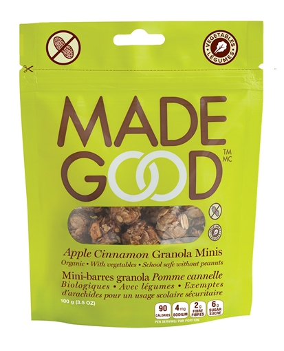 Picture of Made Good Apple Cinnamon Granola Pouch, 6x100g