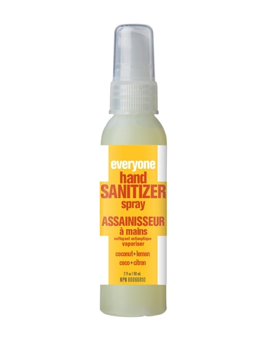 Picture of Everyone Everyone Sanitizer Spray, Coconut & Lemon 60ml