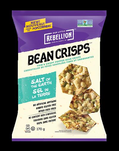 Picture of PopCorners PopCorners Bean Crisps, Salt of the Earth 170g
