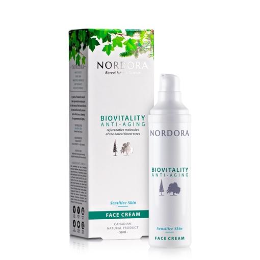 Picture of Nordora Nordora Anti-Aging Sensitive Skin Face Cream, 50ml
