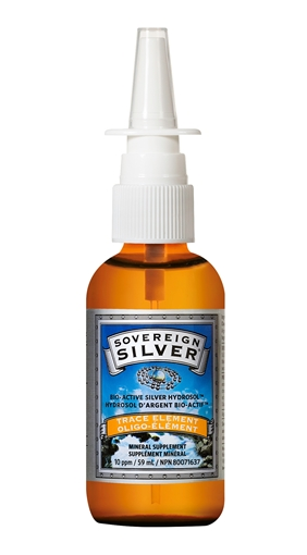 Picture of Sovereign Silver Soverign Silver Nasal Spray, 59ml