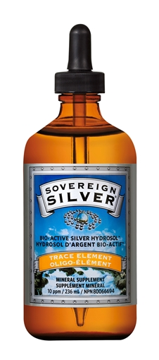 Picture of Sovereign Silver Collidal Silver Dropper,  236ml