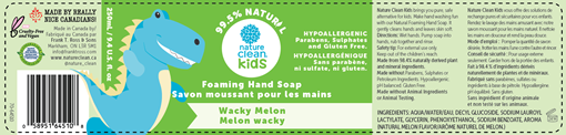 Picture of Nature Clean Nature Clean Foaming Hand Soap, Wacky Melon 250ml