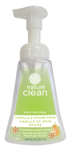 Picture of Nature Clean Nature Clean Foaming Hand Soap, Vanilla & Spiced Pear 240ml
