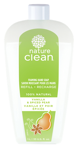 Picture of Nature Clean Nature Clean Foaming Hand Soap, Vanilla & Spiced Pear 1L
