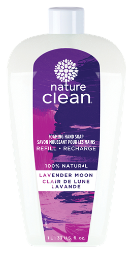 Picture of Nature Clean Nature Clean Foaming Hand Soap, Lavender Moon 1L