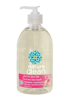 Picture of  Nature Clean Hand Soap,  Sweet Pea Lemon Balm 500ml