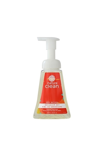 Picture of Nature Clean Nature Clean Foaming Hand Soap, Geranium Sky 240ml