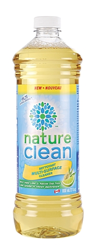 Picture of Nature Clean Nature Clean Multi Surface Cleaner, Lime and Tea Tree Oil 800ml