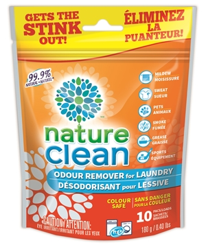Picture of Nature Clean Odour Remover for Laundry, 10 Count