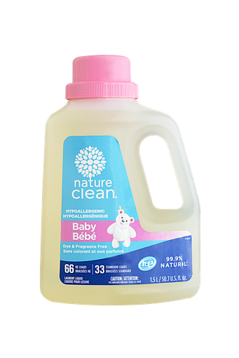 Picture of Nature Clean Nature Clean Laundry Liquid - Baby, 1.5L