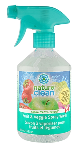 Picture of Nature Clean Nature Clean Fruit & Veggie Spray Wash, 500ml