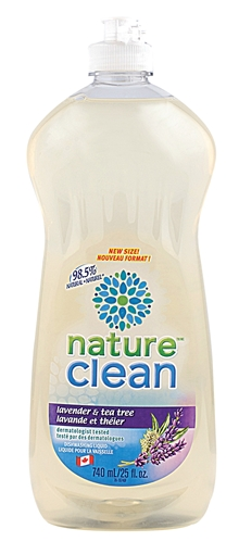 Picture of Nature Clean Nature Clean Dishwashing Liquid, Lavender and Tea Tree 740ml