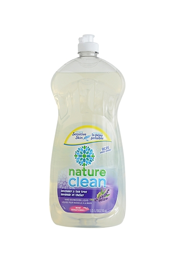 Picture of Nature Clean Nature Clean Dishwashing Liquid, Lavender and Tea Tree 1.5L