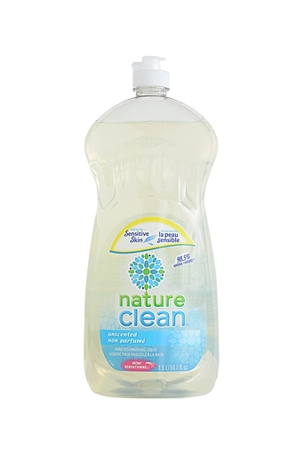 Picture of Nature Clean Nature Clean Dishwashing Liquid, Unscented 1.5L