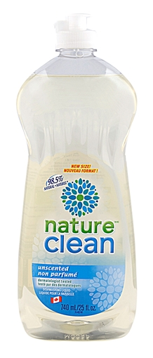 Picture of Nature Clean Nature Clean Dishwashing Liquid, Unscented 740ml