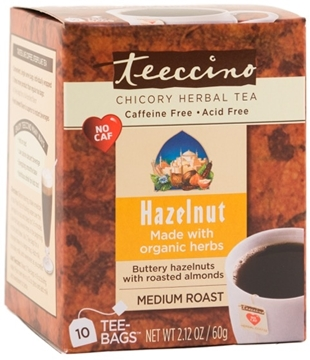 Picture of Teeccino Teeccino Hazelnut Herbal Tea, 10 Bags