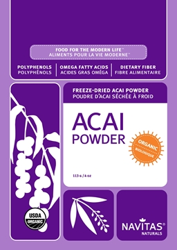 Picture of Navitas Organics Acai Powder, 113g