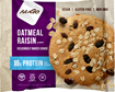 Picture of NuGo Nutrition To Go Oatmeal Raisin Protein Cookies, 12x100g