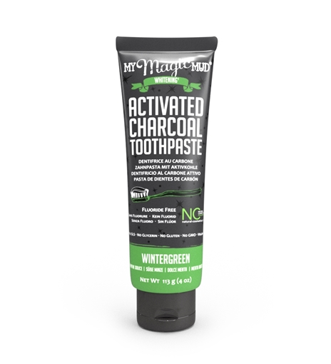 Picture of My Magic Mud Charcoal Toothpaste Wintergreen, 113g