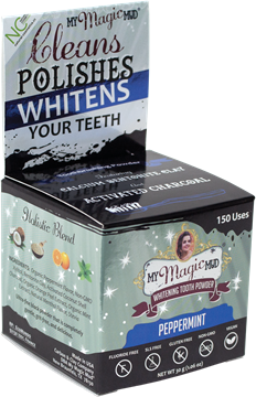Picture of  Charcoal Tooth Powder Peppermint, 30g