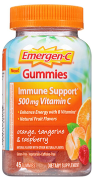Picture of Emergen-C Immune Gummie Orange Tangerine Raspberry, 45 Count