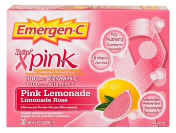 Picture of Emergen-C Pink Lemonade, 30 Single Packets