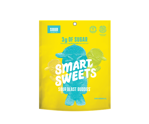 Picture of SmartSweets Sour Blast Buddies, 12x50g