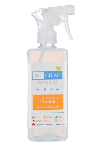 Picture of All Clean Natural Natural Vinyl, Wood & Leather Cleaner, 500ml