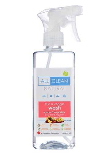 Picture of All Clean Natural All Clean Natural Fruit & Veggie Wash, 500ml