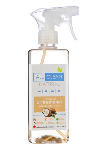 Picture of All Clean Natural All Clean Natural Air Freshener, Coconut 500ml