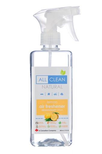 Picture of All Clean Natural Natural Air Freshener, Lemon 500ml