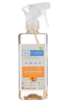 Picture of All Clean Natural Natural Air Freshener, Orange Vanilla 500ml