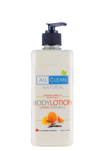 Picture of All Clean Natural All Clean Natural Body Lotion, Orange Vanilla 500ml