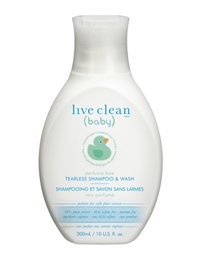 Picture of Live Clean Live Clean Baby Perfume Free Tearless Shampoo & Wash, 300ml